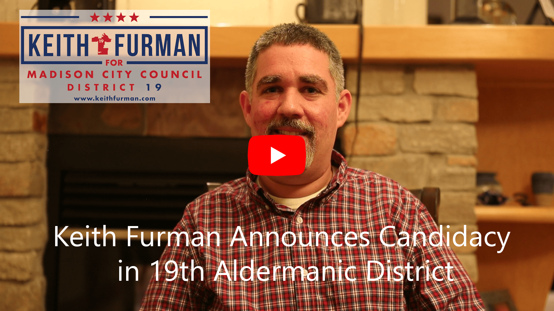 Keith Furman Announces Candidacy in 19th Aldermanic District Video (with captions)